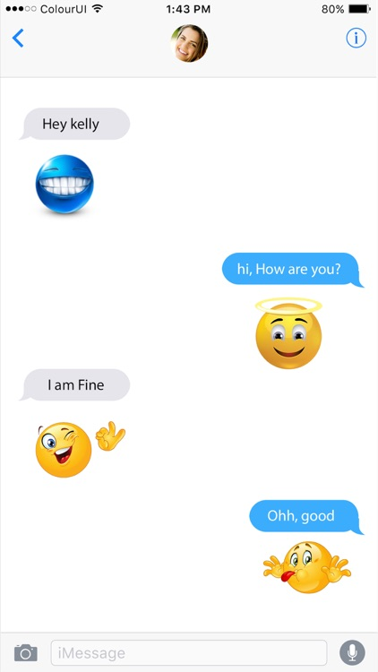 Emojis & Stickers For iMessage App screenshot-3