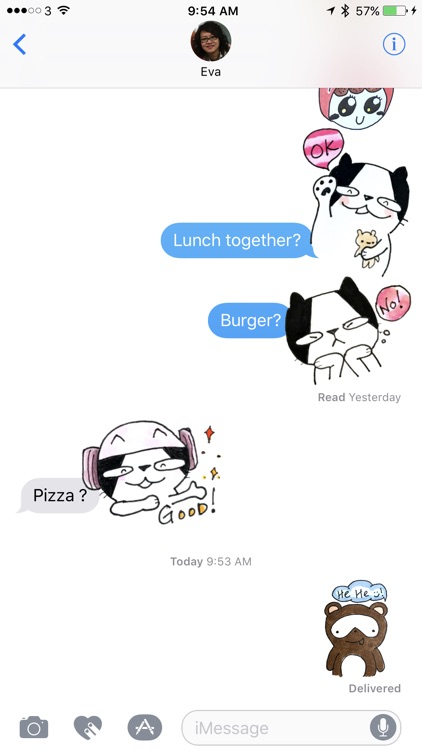 Doodle Funny Stickers Free