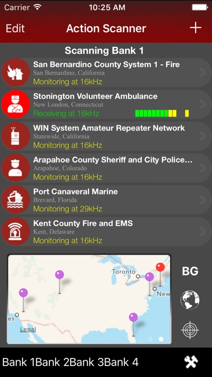 Action Scanner PRO - Police Fire and EMS
