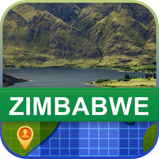Offline Zimbabwe Map - World Offline Maps
