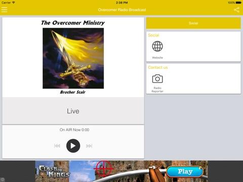 Overcomer Radio Broadcast-ipad-1