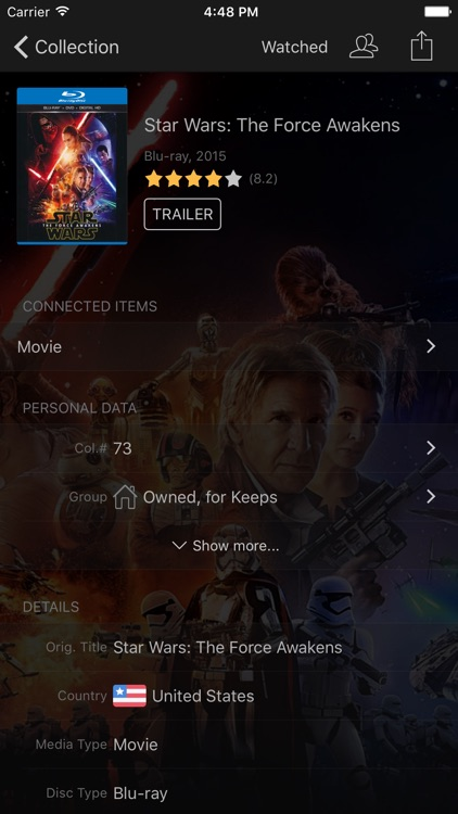 My Movies Pro - Movie & TV Collection Library screenshot-3