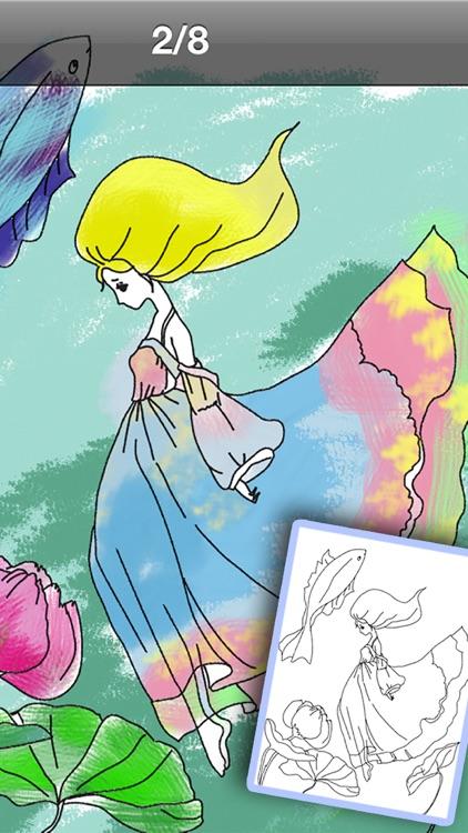 Colorful Princess & Fairy