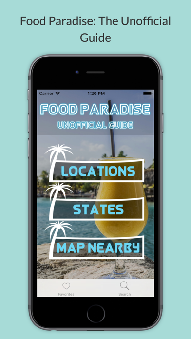 Food Paradise TV Unofficial Guide Screenshot