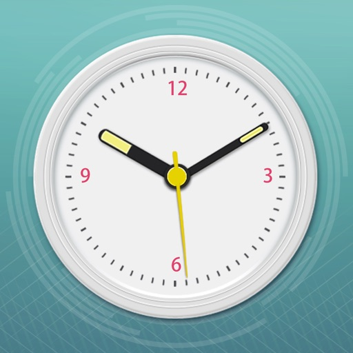 World Clock 2 for colorful clock, world map, time