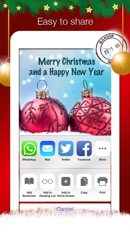 Christmas Greeting Cards - Creater & Collection screenshot-3