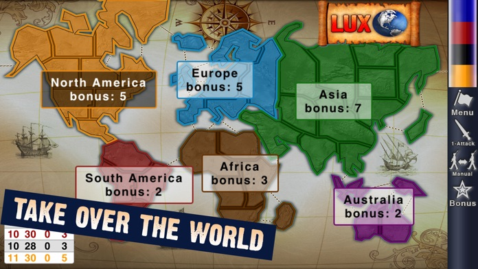 Lux Touch 3 - World Domination Game Screenshot
