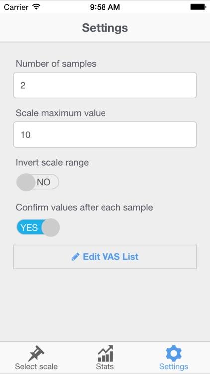Visual Scale PRO (painometer, measure pain level) screenshot-4