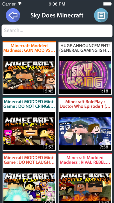 Videos for Minecraft app download for Android iOs and PC