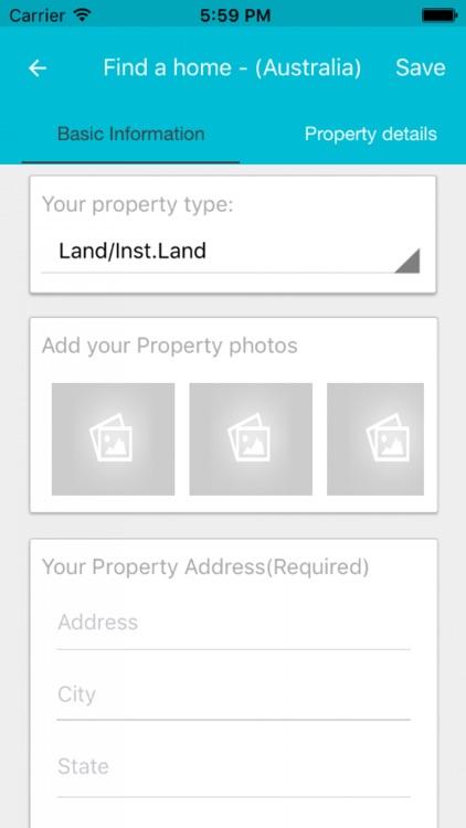 find a home - (Australia)