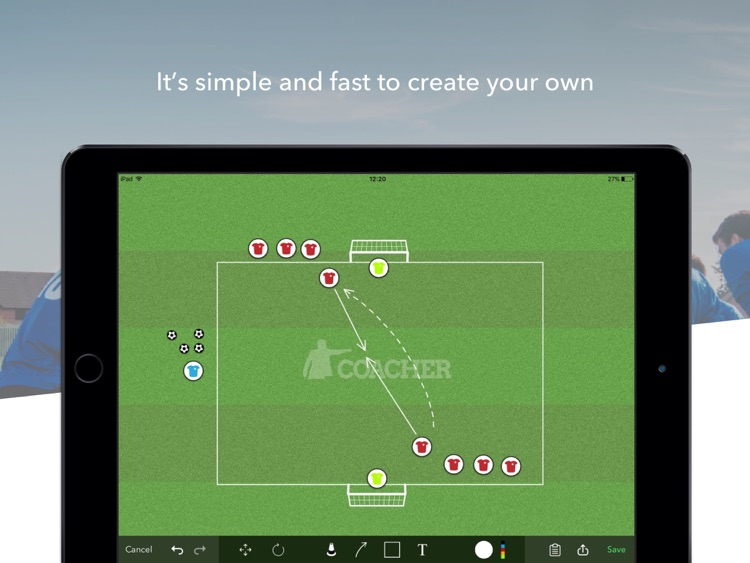 Coacher Drills - Improve your soccer training drills screenshot-3