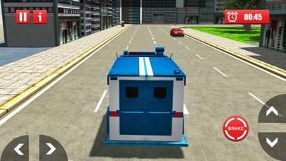 警察の犯罪者交通バン - シティバスドライバのおすすめ画像1