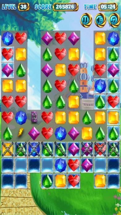 Jewel Poping Mania screenshot one