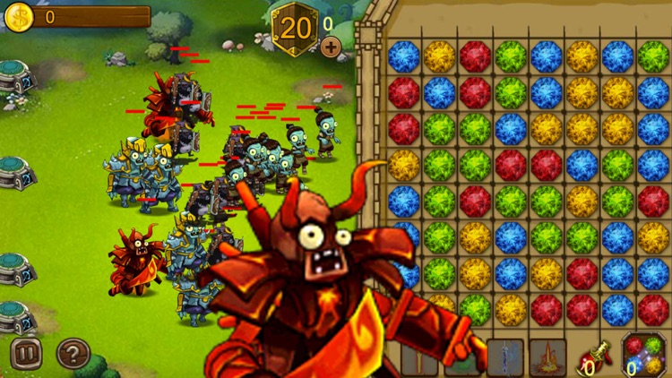 Zombies Crush: Tower Defense & Strategy Game Free screenshot-4