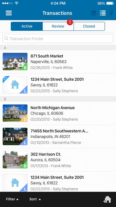 DocuSign Transaction Rooms screenshot one