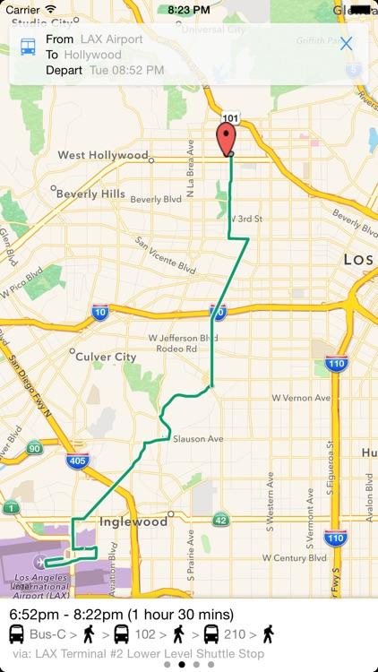 Transit Tracker - Los Angeles (METRO) screenshot-3