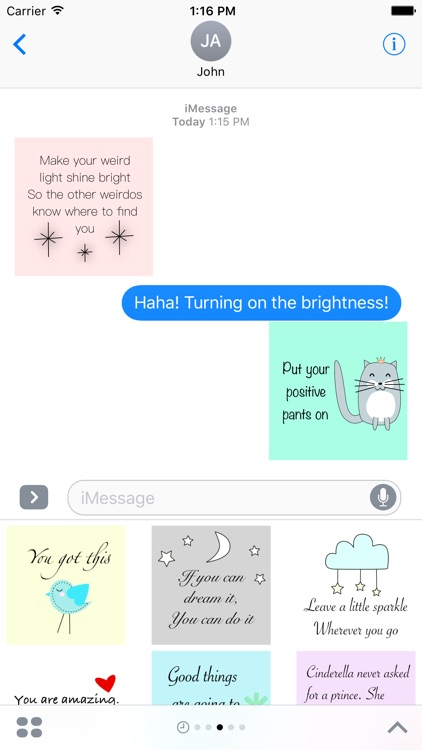 Inspirational Stickers screenshot-3