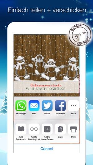 App Weihnachtsgrüße.Weihnachtskarten Weihnachtsgrüße Verschicken On The App Store