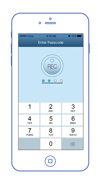 Easy Notes Locker - Password Protected Notepad screenshot two