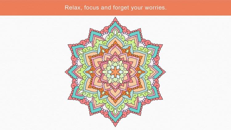 Zen: coloring book for adults screenshot-4