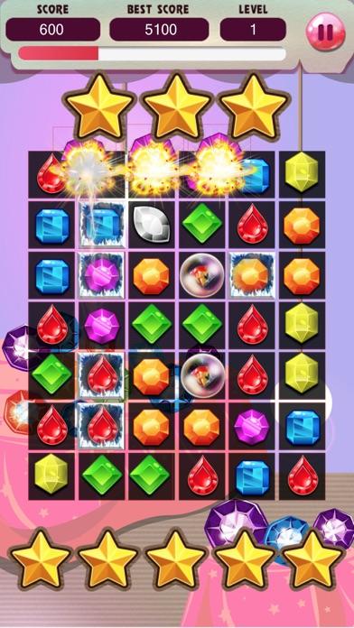 ジュエルワールドスター - ジュエルバブル無料のパズルゲームの破裂スプラッシュのスクリーンショット1