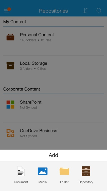 VMware Content Locker