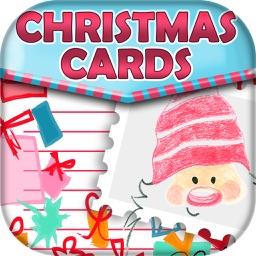 Christmas Holiday Greeting and Invitation Card.s