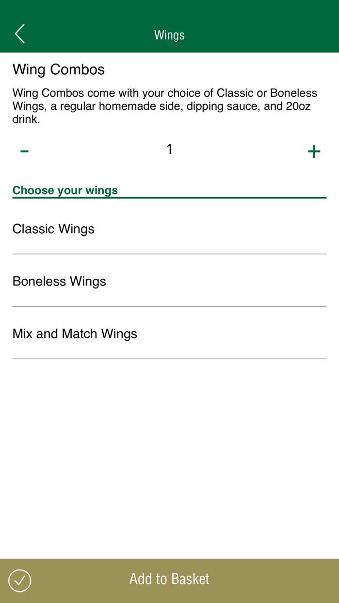 Wingstop Screenshot