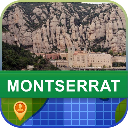 Offline Montserrat Map - World Offline Maps