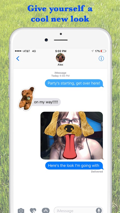 Louie - Dog Stickers for iMessage
