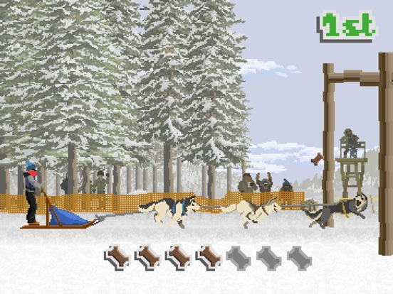 Screenshot #2 for Dog Sled Saga