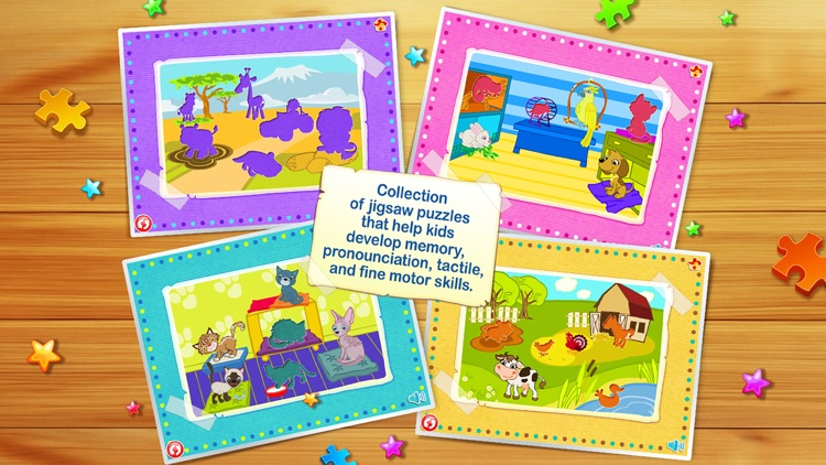 123 Kids Fun ANIMATED PUZZLE Jigsaw Puzzles Games screenshot-0