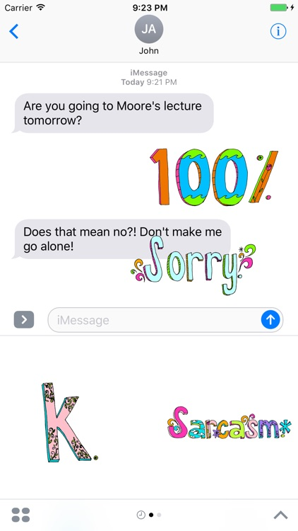 Sarcasm Stickers screenshot-0