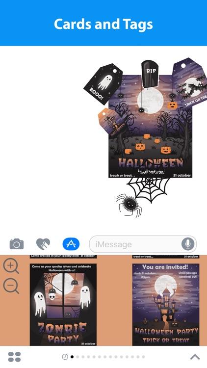 Halloween Sticker Maker for iMessage screenshot-3