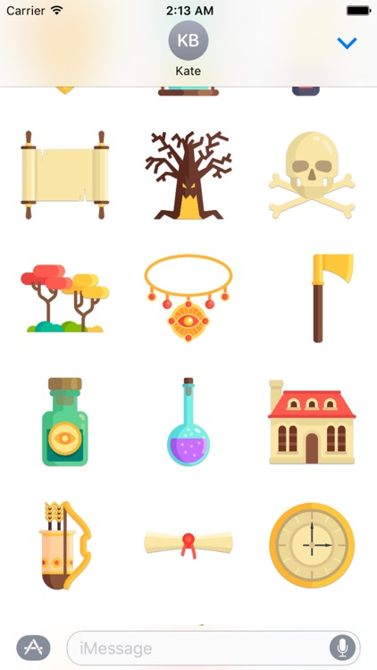 Fairytale Sticker Pack screenshot-2