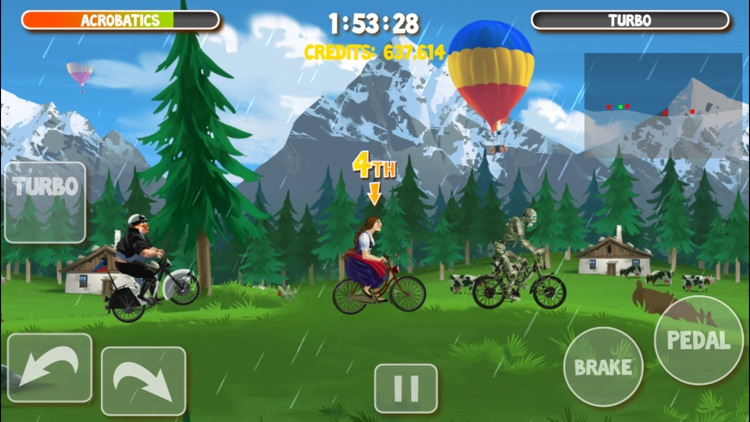 Crazy Bikers 2 Free screenshot-4