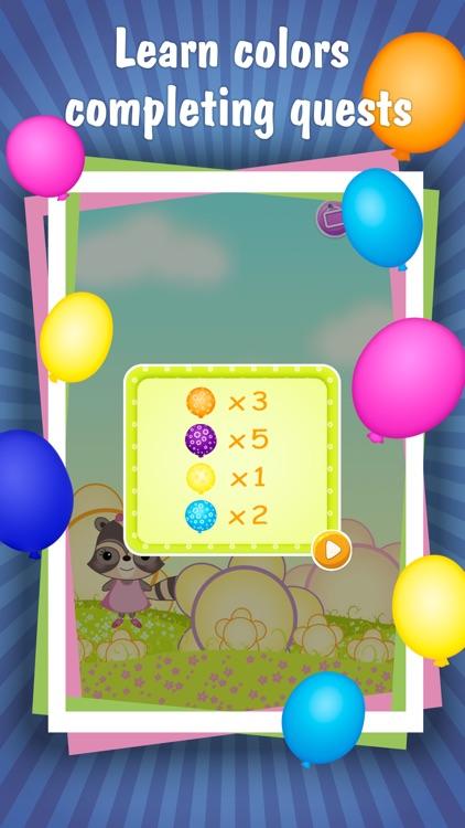 Candy Raccoon: Pop Balloons screenshot-4