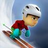 卡通滑雪少年跑酷大冒险3d