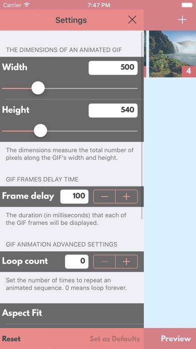 Slideshow Maker: Verbinden Sie Bilder mit GIF-AusgScreenshot von 3