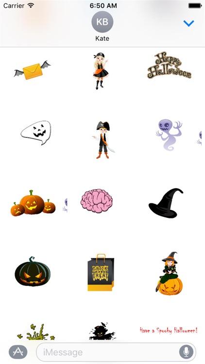 HD Halloween Stickers
