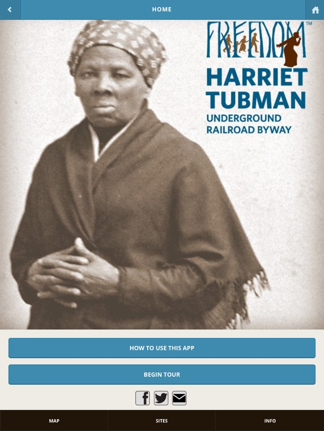 ‎Harriet Tubman Underground Railroad Byway Screenshot