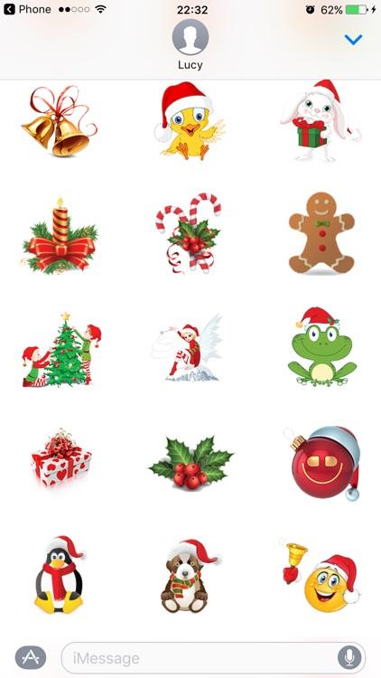 Christmas Stickers Santa Pack for texting screenshot-4