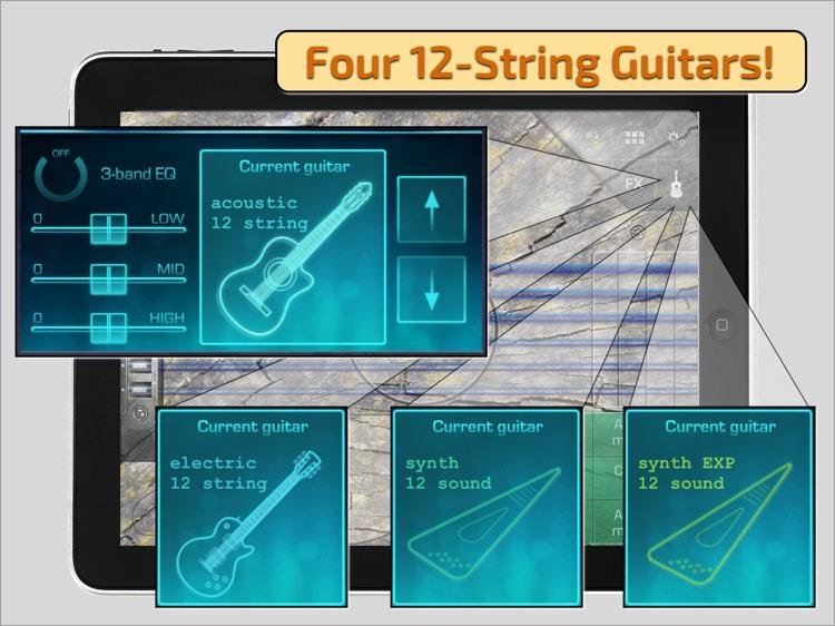 OMGuitar-12 Digital Twelve String Guitar with FX