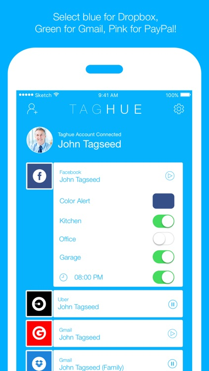 Taghue for Philips Hue