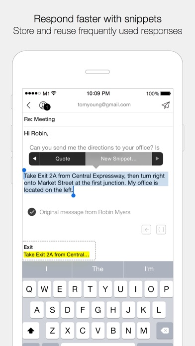 Dispatch: Email meets GTD Screenshots