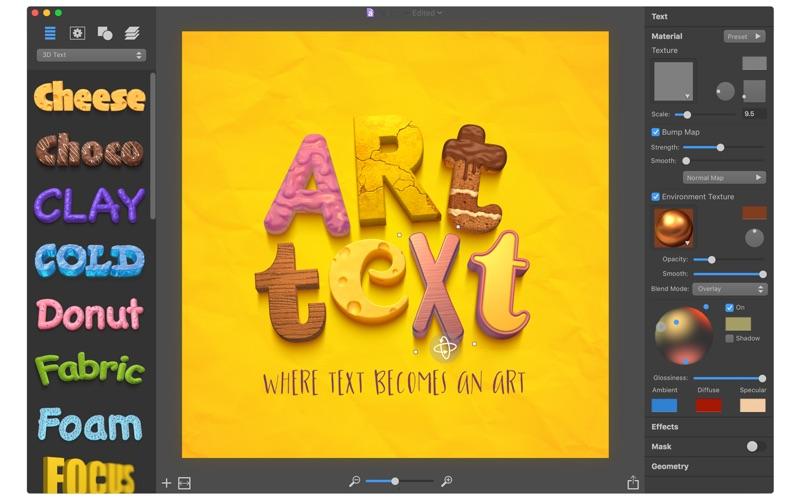Art Text 3 review screenshots
