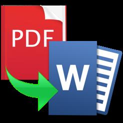 Pdf to word convert pdf to word converter on the mac app store pdf to word convert pdf to word converter 4 stopboris Images