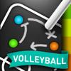 CoachNote Volleyball & Beach Volleyball : Sports Coach's Interactive Whiteboard