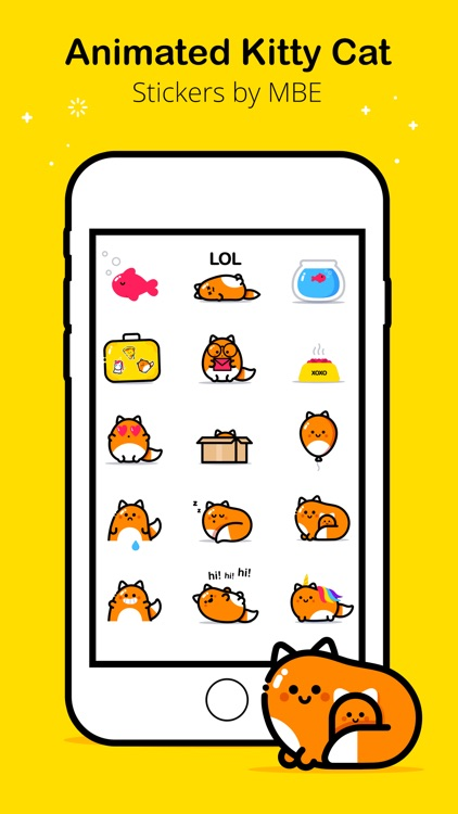 MBE Kitty Cat Stickers