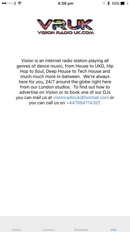 Vision Radio UK screenshot-3